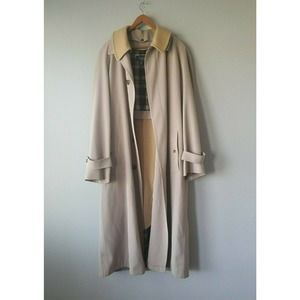 Turnbury Brown Long Trench Coat w/ Removable Wool